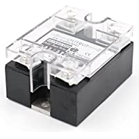 Heschen Single Phase DC Solid State Relay SSR-60DD 3-32 VDC/24-220 VDC 60 A