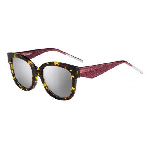 Dior Damen VERYDIOR1N DC VV5 Sonnenbrille, Rot (Havana Red/Extra White Marl), 51