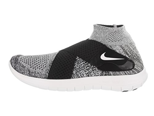 Nike Herren Free Rn Motion Fk 2017 Laufschuhe Mehrfarbig (Black/white/pure Platinum/wolf Grey)