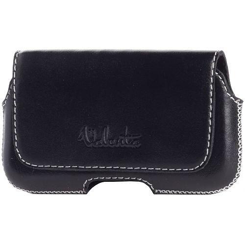 Durban Black X-Large Loop Leder Tasche (für iPhone 4, 3G, Samsung Galaxy Ace, Galaxy Mini, HTC Desire S) schwarz Iphone 3g Wave