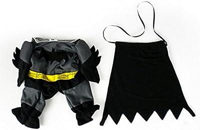 swyivy mascota Batman Costume Outfit Ropa divertida fiesta disfraz