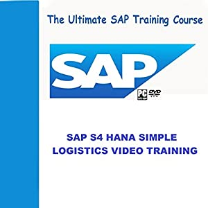 SAP S4 HANA SIMPLE LOGISTICS 1610 VIDEO TRAINING
