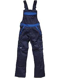 Dickies Salopette de travail deux tons IN30040, couleur:marine/bleu barbeau; FR 46 (Taille Fabricant:52)