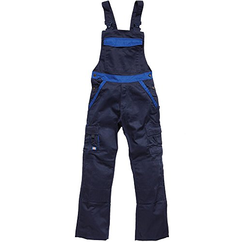 Dickies Latzhose Industry 300 navy / royal NRB-64, IN30040