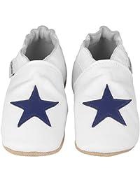 Kindsgut - Zapatos de gateo para los primeros pasos, piel auténtica