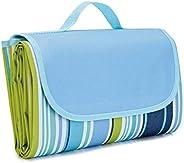 Waterproof Foldable Outdoor Camping Mat Widen Picnic Mat Plaid Beach Blanket Baby Multiplayer Tourist Mat 145x