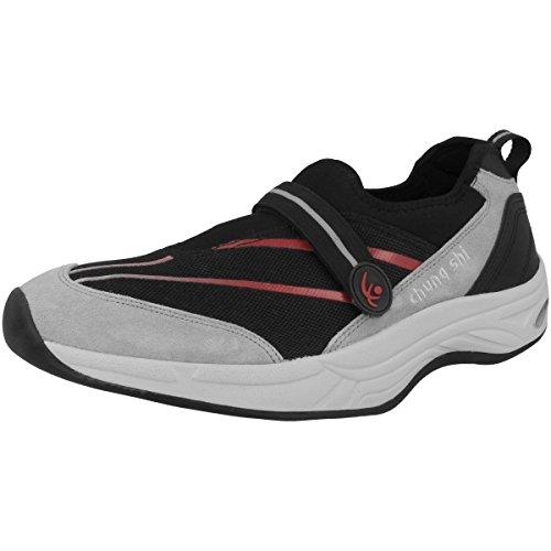 Chung Shi Damen Comfort Step Aqua Schuhe schwarz (9100605)