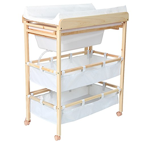 Infantastic Baby Bath and Changing Table Unit Station Nursery Furniture