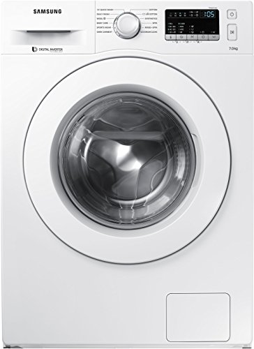 Samsung 7 kg Fully-Automatic Front Loading Washing Machine (WW70J4263MW/TL, White)