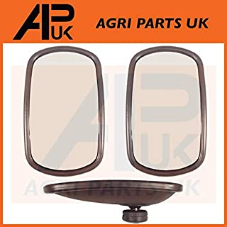 APUK Pair of Universal Wing Mirror Head & Glass 10