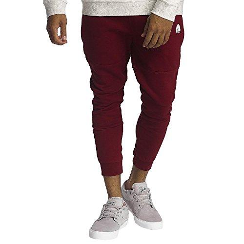 Just Rhyse Uomo Pantaloni / Pantalone ginnico Chilkat Rosso