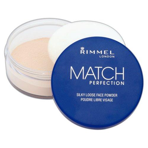 Rimmel Match Perfection, Polvere libera viso trasparente
