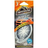 Armor All GAA78522ML Air Freshener New Car Card, Grey, Set of 3 preiswert