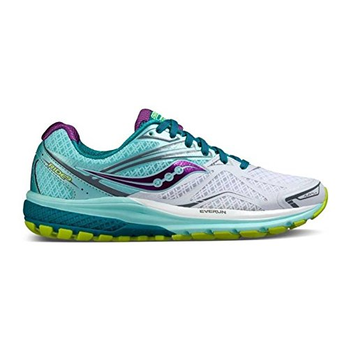 41RYH3Knx3L. SS500  - Saucony Women's Ride 9-w Running Shoe, 14