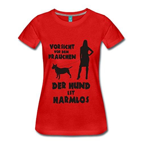 Terrier: Vorsicht vor dem Frauchen �?der HUND ist HARMLOS Schwarz