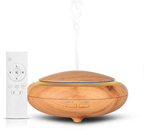 Aroma Diffusor 150ML Ultraschall ätherisches Öl Diffusor Aromatherapy Cool Mist Befeuchter 7 Farbe LED leuchtet Fernbedienung , light