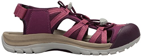 Keen Venice II H2, Sandales de Randonnée Femme Rose (Grape Kiss/red Violet Grape Kiss/red Violet)