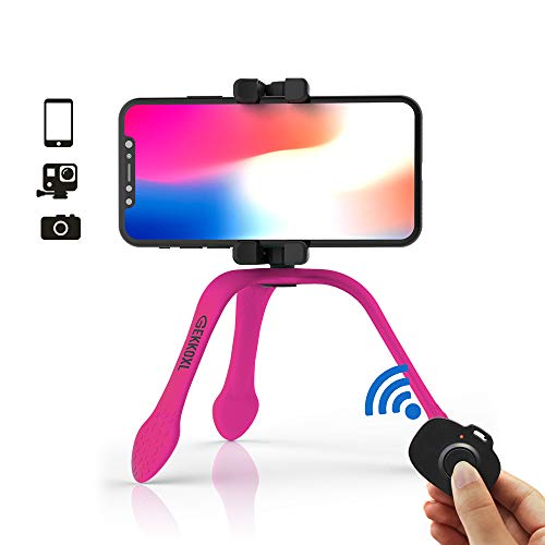 Zbam GekkoXL Smartphone/Action camera 3gamba/gambe Rosa treppiede