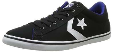 CONVERSE Unisex-Adult Star Player Lp Cvs Ox Trainers 364930-61-8 Black/Blue 8.5 UK, 42 EU