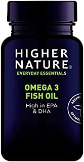 Higher Nature 1000mg Omega 3 Fish Oil - Pack of 90 Capsules (B000NRTWCW) | Amazon price tracker / tracking, Amazon price history charts, Amazon price watches, Amazon price drop alerts
