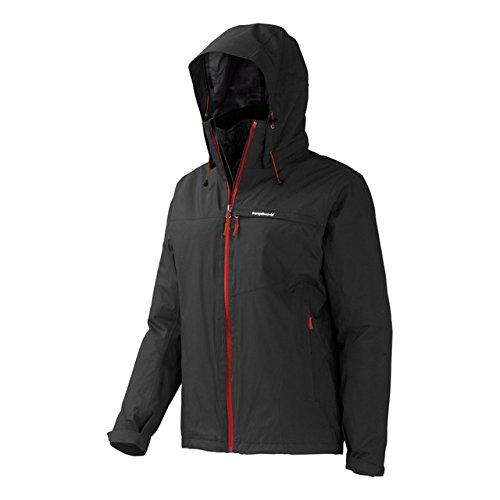 Trangoworld Damen Aleida COMPLET Jacke, Grau-210-Sombra Oscura, 2XL
