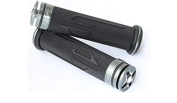 S300 SV 125 S3 Streezer Laser//Silber Lenkergriffe kompatibel mit Daelim Otello Daystar