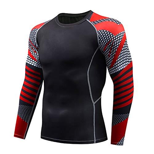 Momoxi Damen Herren Casual Fitness T-Shirt Schnell trocknende elastische Oberteile Hosen Sport Enge Klage Ladeneröffnung bietet einen ermäßigten Preis über Prozentsatz 60 70 80