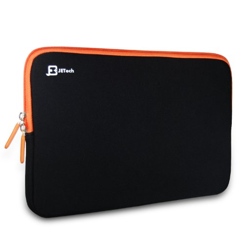 JETech, Schutzhülle / Etui / Tasche mit elastischem Memory Foam für iPad 2 / 3 / 4, iPad mini, iPad Air, Motorola Xoom, Samsung Galaxy Tab 3 / Tab 4, HP TouchPad, Viewsonic ViewPad, Acer Iconia Tab A510, Microsoft Surface Pro, Chromebooks, Netbooks, Tablet-PCs und Laptops bis 11 Zoll (0600)