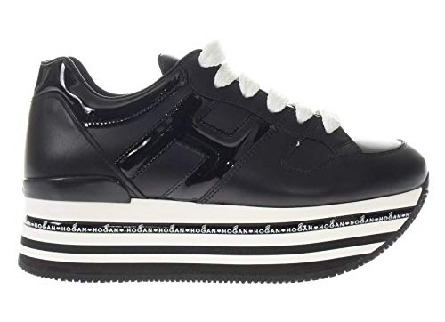 Hogan Sneaker Maxi I Active H413 Donna Nero 38.5 a2210b8fbc2
