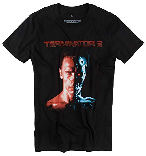 Officially Licensed Terminator 2 T Shirt for Men