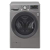 LG 13Kg Washer & 8Kg Dryer, 1400 RPM Free Standing Washer & Dryer with 6 Motion Inverter Direct Drive Motor, Silver - F0K6DMK2S2