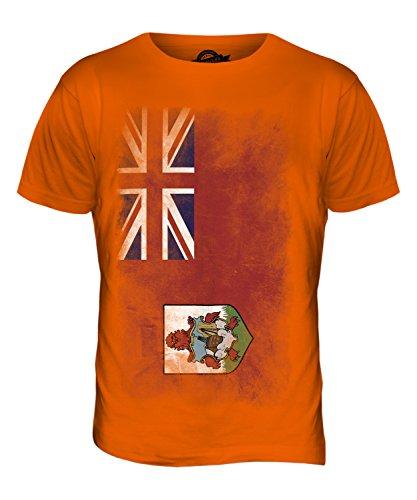 CandyMix Bermuda Verblichen Flagge Herren T Shirt Orange