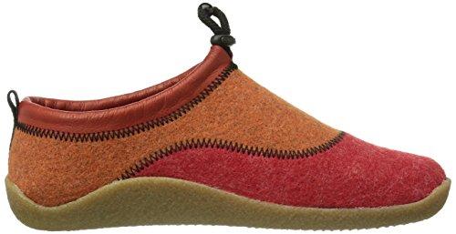Dr. Brinkmann - 340137, Pantofole Donna Rosso (Rot (rot/orange))
