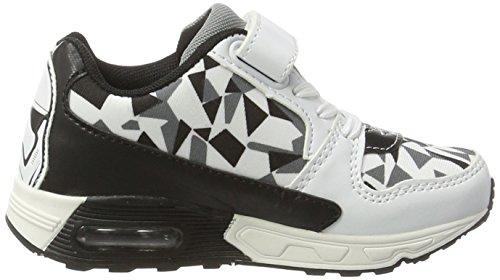 Star Wars Jungen Sw000630 Sneaker Schwarz (White/Black/Grey 005)