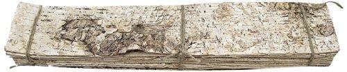 Steingaesser 80299 01 0400 Birkenplatte 48 x 9 cm, 10 Stück, creme
