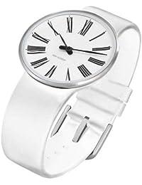 Rosendahl Unisex-Armbanduhr Analog Edelstahl weiss 43475