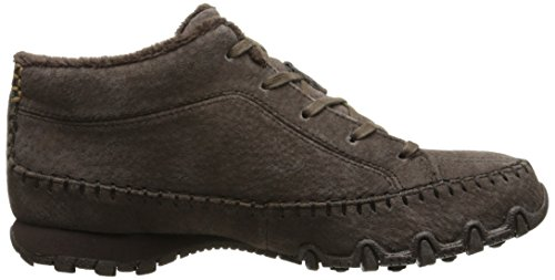 Skechers Bikers-totem pÃŽle large cheville Bootie Chocolat