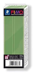 STAEDTLER- Pasta para modelar Fimo Professional, Color Verde Hoja (8041-57)