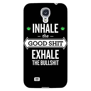 Jugaaduu Weed Quotes Back Cover Case For Samsung Galaxy S4 I9500