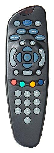 Telecomando sky hd,  comprensivo di 2 batterie duracell, funziona con il decoder sky hd e televisione, autentici sky705