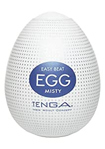 Tenga Egg Einweg-Masturbationsei Misty, Hard Boiled
