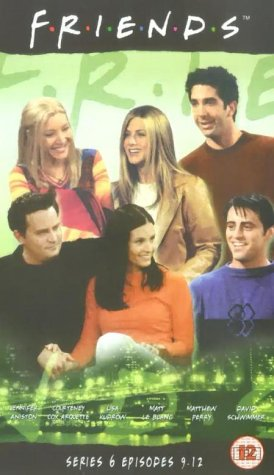 Click for larger image of Friends - Series 6 - Episodes 9-12 [VHS]