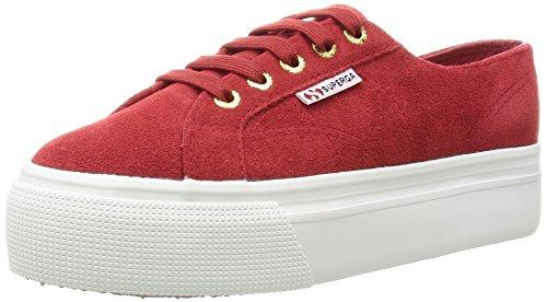 UEW Sneaker, Rot (Red Dk Scarlet 104), 40 EU ()