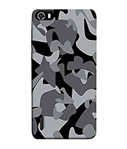 Huawei Honor 6 Back Cover Camouflage Military Background Design From FUSON