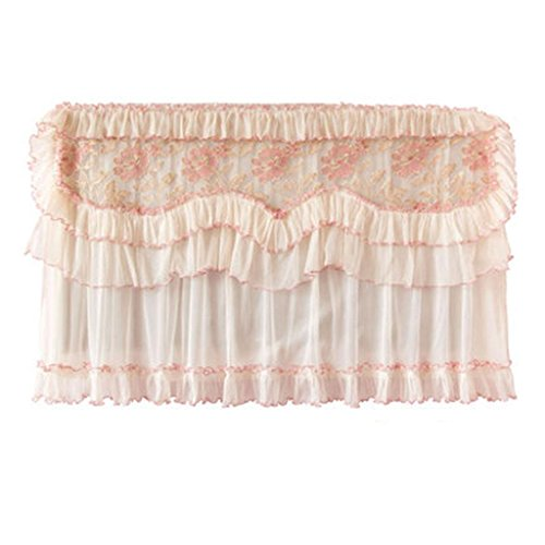 Liquid Crystal TV Cover Rural Cloth Lace Wall-Mounted TV Set Dust Cover   large   h