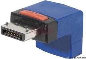 Abix Displayport Adapter M F Winkel Computer Zubehör