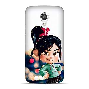 Mobile Back Cover For Motorola G2 (2nd Generation) (Printed Designer Case)