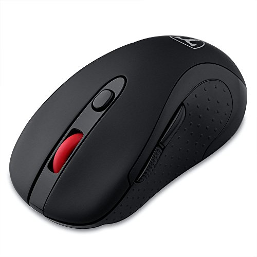 2.4G Mouse Wireless con Ricevitore USB, 6