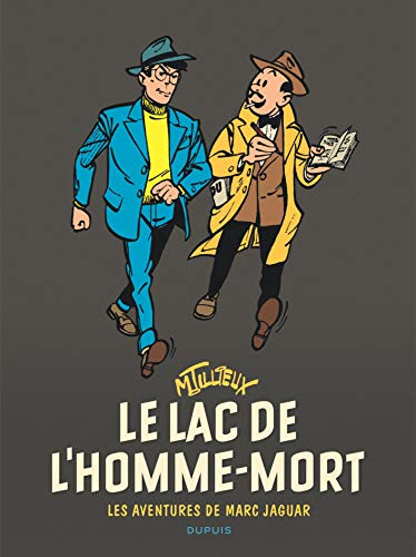 Marc Jaguar - tome 1 - Le lac de l'Homme-mort (Réédition) par Tillieux