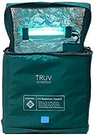 HOME 360® | TRU-V UV Sterilizer Box (Large) | ICMR/NABL Empanelled Lab Certified Portable UV Sanitizer Box | U